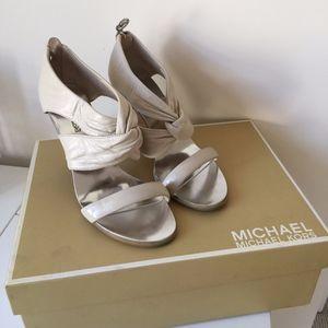Michael Kors orchard zip back shoes